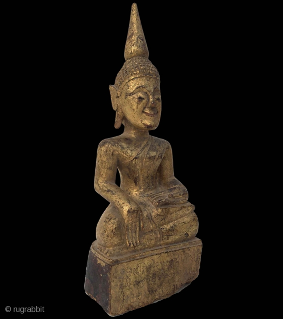 Lovely 19th century Thai Gilded Buddha