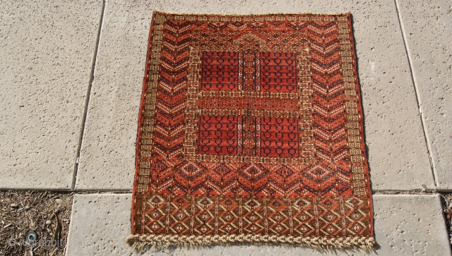 Tekke Ensi 1870 good colors and very good condition.