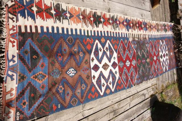anatolian Kelim half 82x340cm