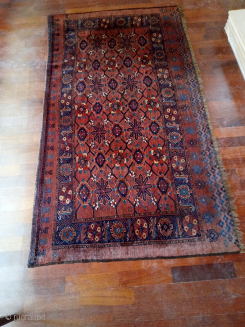 Beshir, ca. 1880, pristine condition, 187 x 102 cm. Price € 2.200 or offer