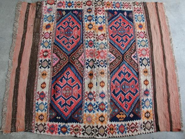 Caucasian Saddle Kilim 3 6 Quot X 4 1 Quot Caucasian Flat Weave