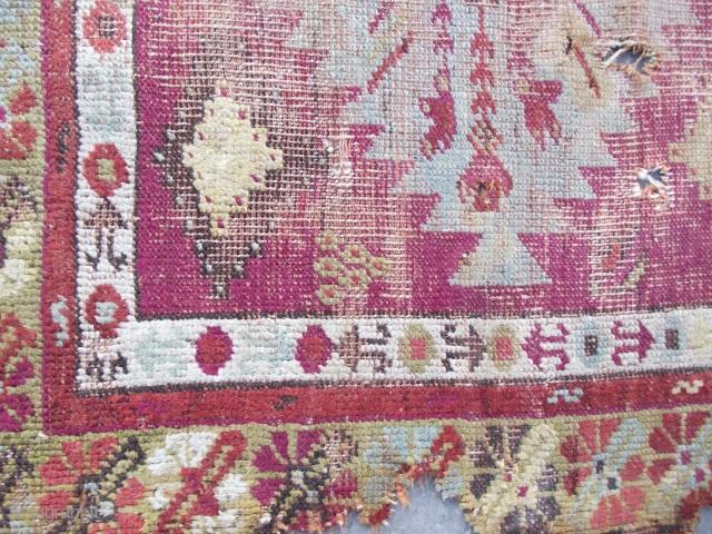 size : 90 x 120   anatolian fragment