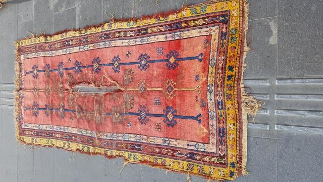Size : 102 x 225 (cm),   Eastern Anatolia (kürt), Over 100 years old ,