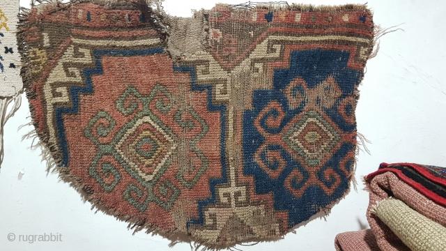 Size : 44x70 (cm), Middle anatolia , Fragment