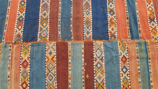 Size : 158 x 315 (cm), East anatolia (karacadag) kilim ,