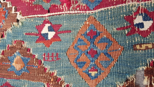 Size : 85 x 320 (cm), East anatolia (malatya/drejan) kilim fragment
