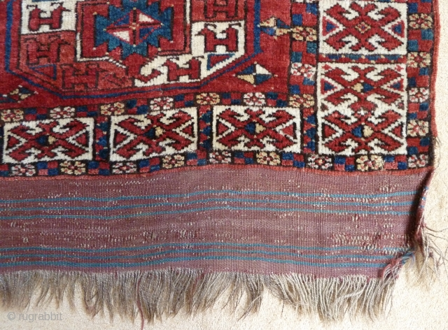 A rare and early Middle Amu Darya small carpet. Further details available on request.