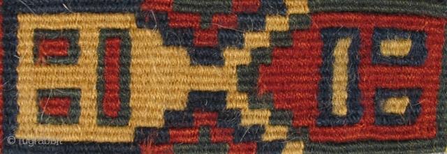 "Pre-Columbian Band Peru, Nasca Culture 400 – 600 A.D. Total Length: 19"" (48 cm) Width: 1.5"" (4 cm)    Please visit our online exhibition: Andean Textile Traditions."