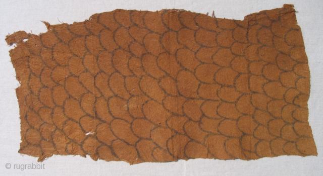 Pygmy bark cloth