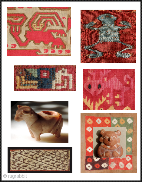 These along with other cool Andean artworks can be found on my pages. Rugs too.  Have a look.  Thanks.