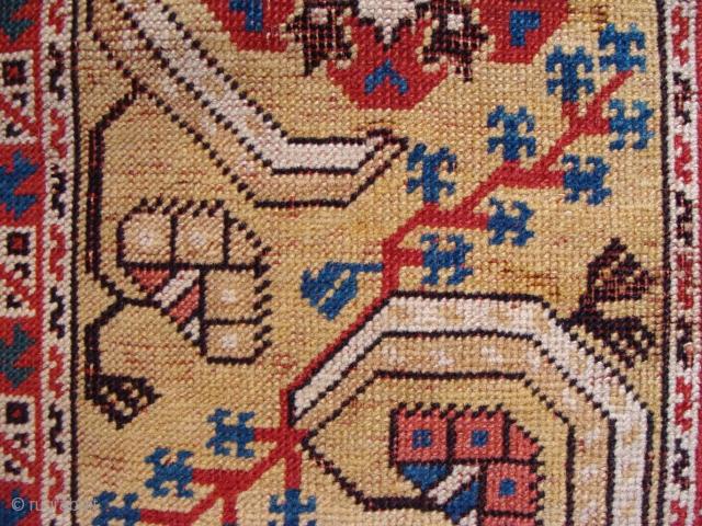 2nd half 17th century ' Transylvanian ' rug. 114 x 160cm