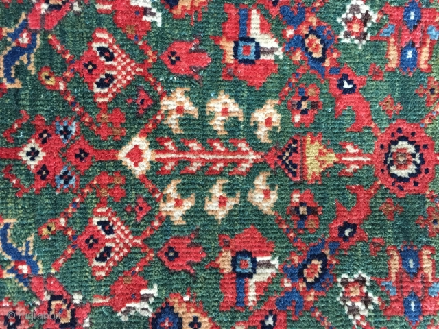 "Antique Sarouk Fereghan rug in perfect condition. 4'6"" x 6'7""