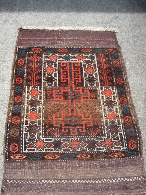 "Belouch prayer rug 2' 9"" x 4' 2"".