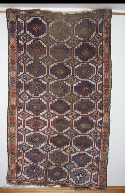 East Anatolian rug with guls . Average size is 4ft x 7ft