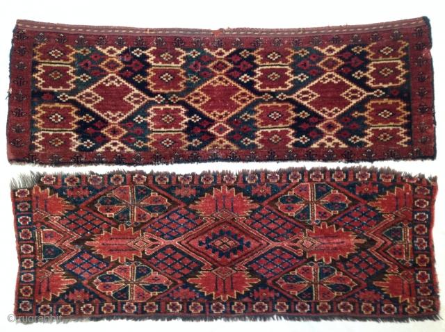 Two 19th century Turkmen torbas, Middle Amu Darya region
