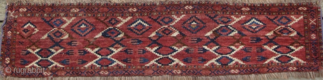Antique Turkmen Middle Amu Darya trapping of a rare type.
