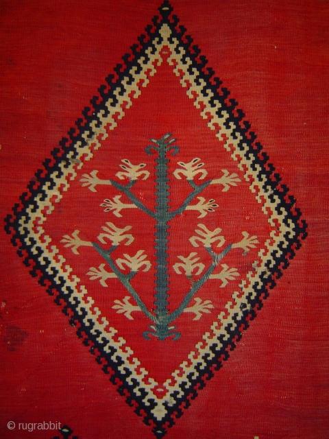 Antique Pirot kelim, see http://www.rugrabbit.com/node/197816