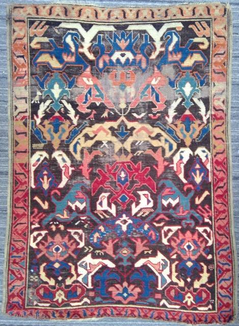 19th century Kuba Seikhur rug