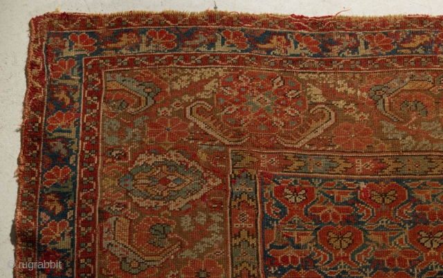 "Rare 18th century West Anatolian small carpet. Similar piece in Metropolitan Museum. 5'7"" x 8'1"" (170 x 246 cm)"
