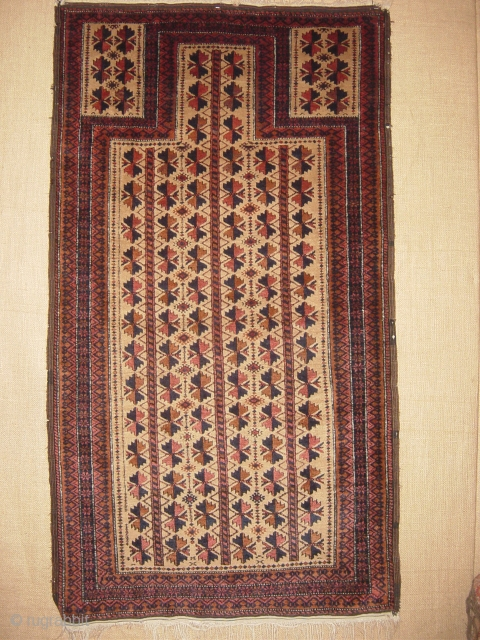 beluch prayer rug with full  condition