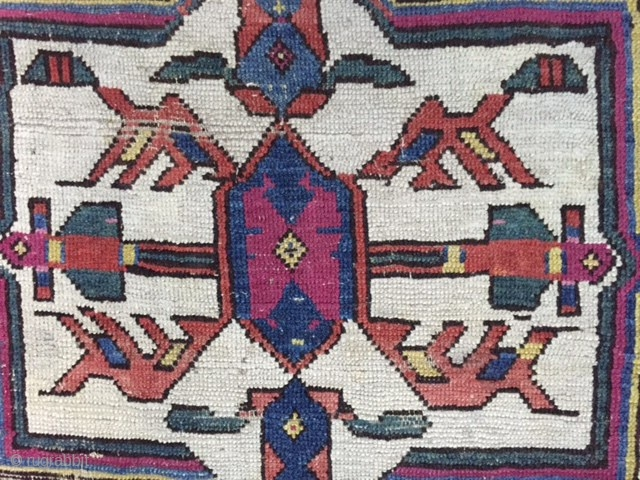 Early sahsevan rare design  Size 250/144 cm