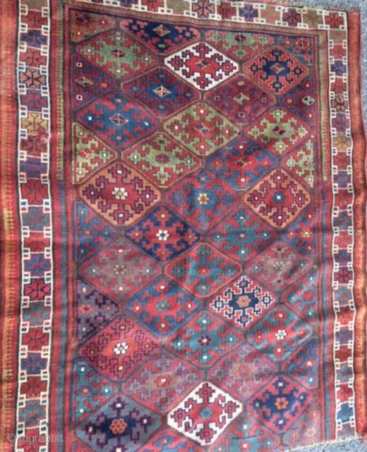 Nice iran/kürdisch carpet natural color But this carpet is cut Size 160/125 cm