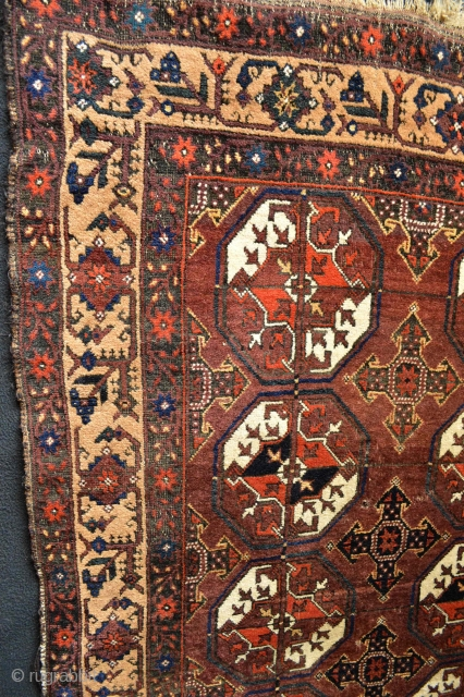 Beautiful and colorful antique Baluch http://stores.ebay.com/TARSUS-RUGS-and-MORE?_trksid=p2047675.l2563 SEE EBAY
