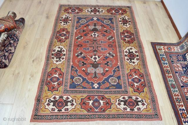 Beautiful Tuduc Transylvanian rug 180x118 cm