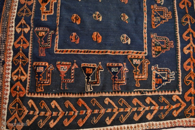 Beautiful Ceremonial South Persian ( quashqai ? ) Horse Cover