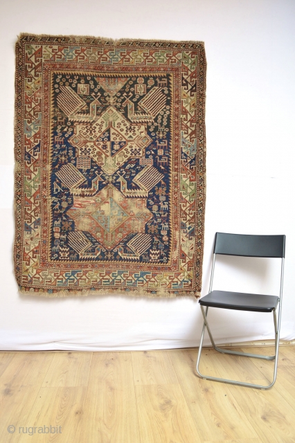 Beautiful 19th century Akstafa small rug