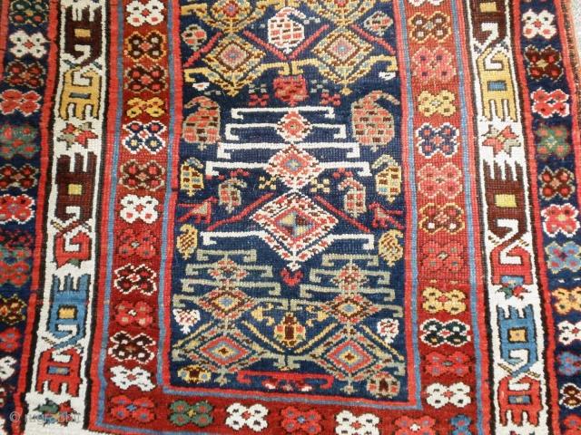 Kurdish Long rug Mid 19th cent.