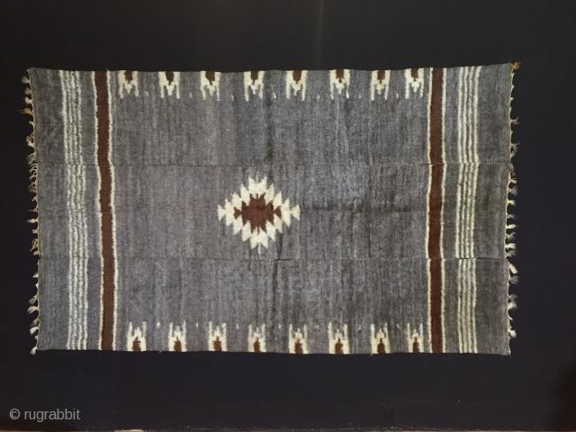 "Anatolian Goat Hair Siirt Blanket Size:247x148cm / 8'1""x4'10"""
