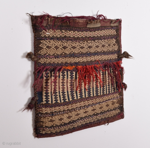Baluch bag-kilim back- first half 20 century