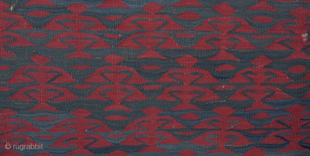 Şarköy Kilim UNUSUAL Mid 19th Century size 95x158 Cm          3'x5'3''