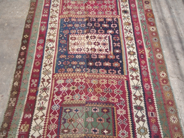 Finely Woven Reyhanli Kilim,beautiful colours and design,good cobdition.Ready for use.E.mail for more info.