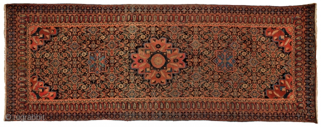 27 Persian Mahal kelly wool 