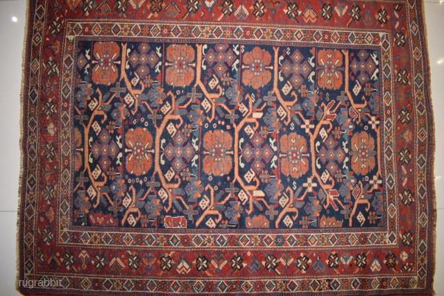 Old Fine Afshari rug  Size 5 x 4 ft
