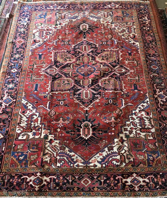Old heriz Carpet