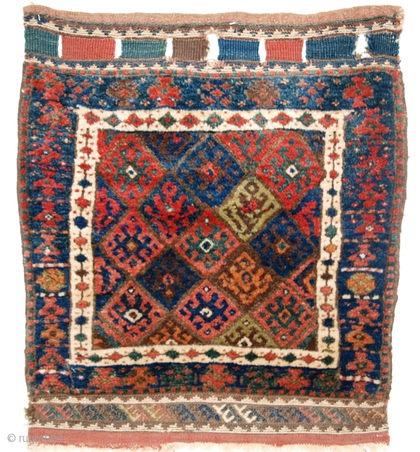Jaf Kurd bag face, Size: 2ft 4in x 2ft 2in (71 x 65cm).