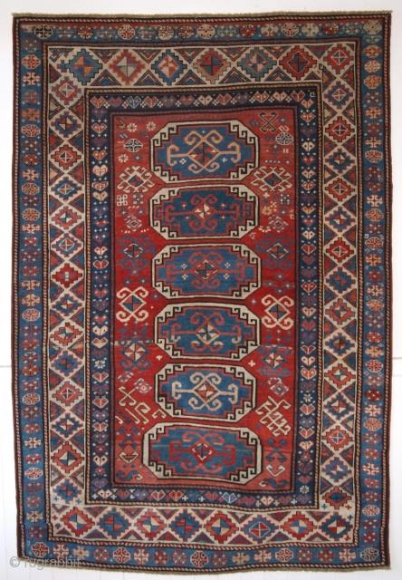 Kazak rug, Moghan region, Size: 205 x 139cm.