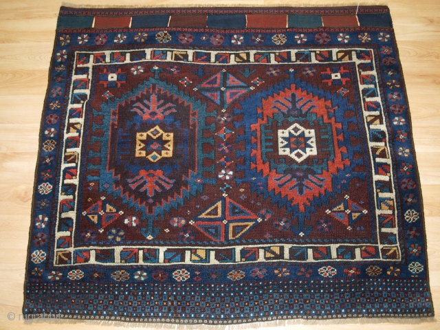 Jaf Kurd bag face with scarce design. Size: 114 x 100cm.