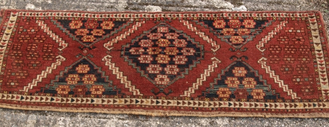 Ersari Turkmen Torba, size:139 x 44cm. www.knightsantiques.co.uk