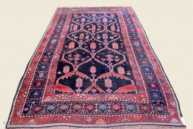 "Luri Bakhtiari; 5'11"" x 9'7""; early 20th Century; wool on wool; excellent condition; ID: JF4135"
