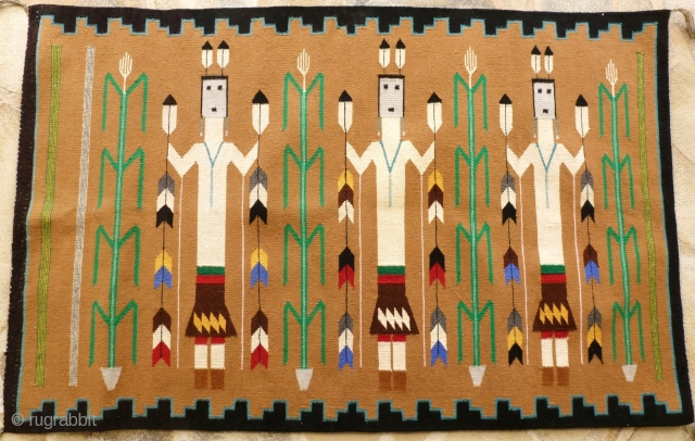 Arizona Indian weaving  circa 1950/60 – 127 x 81 Price upon request