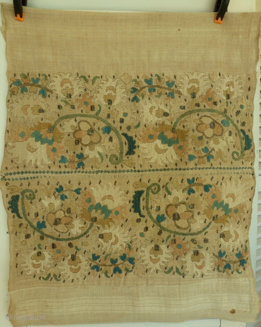 Panel  Ottoman( towel )circa 1800 maybe before 45 x 50 Price: 200€ shipping included