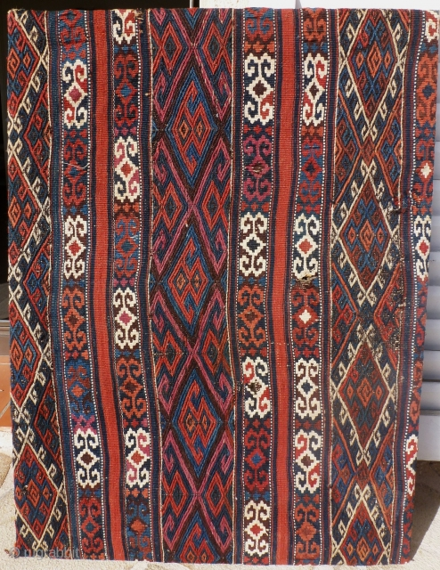 Flaweave, east  Anatolia, probably kurde, 93 x 70. Price upon request