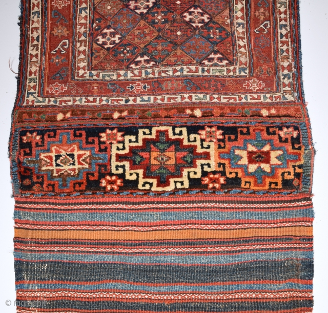 19th Century Bahtiyar Sumac Untouched One Size 66 x 140 Cm