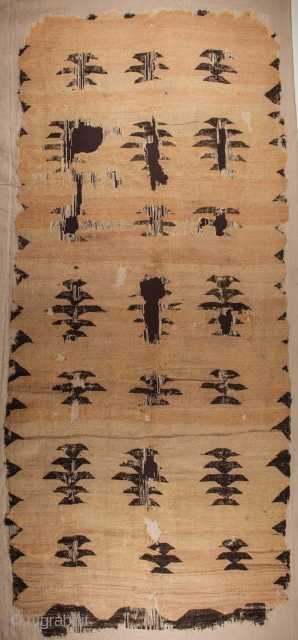 Unusual 18th Century West Anatolian Kilim Size 150 x 352 Cm.