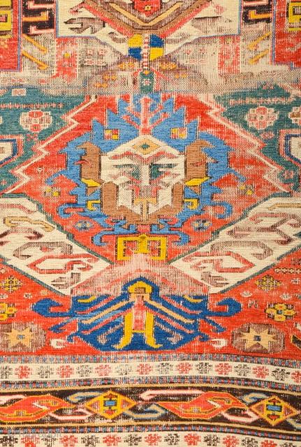 Early 19th Century Dragon Sumac Size 210 x 285 cm