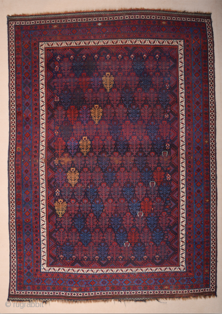 Luri or Kurdish Rug All the colors are natural and ıt's in really good condition.It has very fine thin quality Size 175 x 242 cm